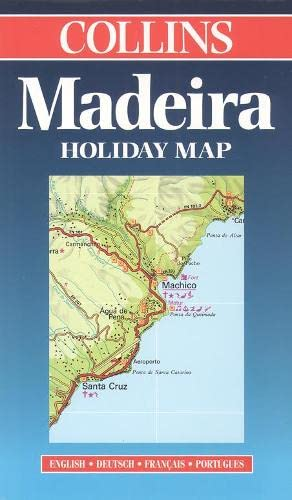 9780004488998: Madeira Holiday Map (Collins Holiday Map)