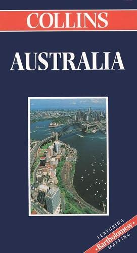 9780004489001: Collins Australia (Collins World Travel Maps)