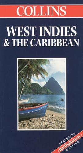 9780004489018: World Travel Map - West Indies and the Caribbean (Collins World Travel Map)
