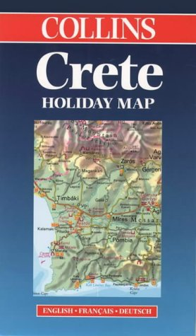 9780004489025: Crete (Collins Holiday Maps)