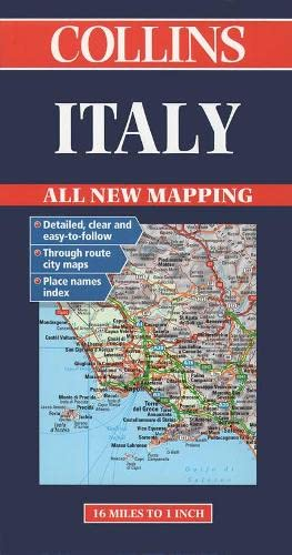 9780004489063: Road Map Italy (Collins European Road Maps)