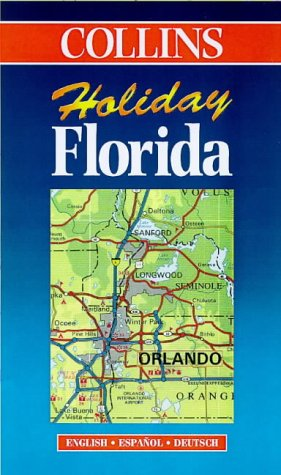 9780004489100: Holiday Map - Florida (Collins Holiday Map)