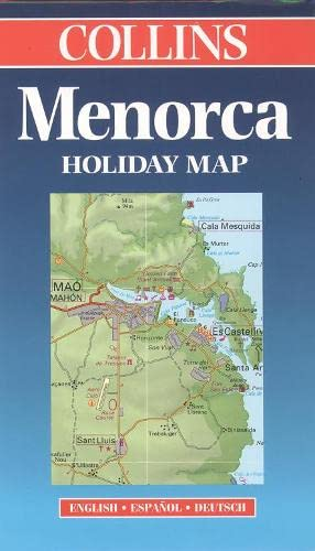 9780004489131: Minorca (Collins Holiday Map)