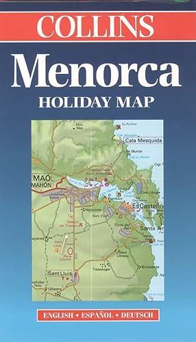 9780004489131: Holiday Map - Menorca (Collins Holiday Map)