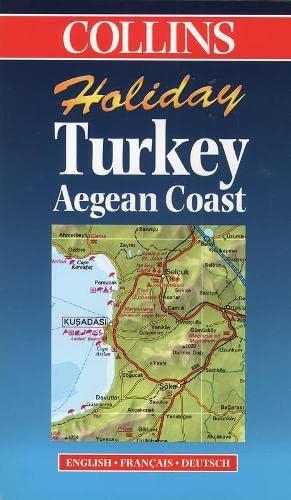 9780004489230: Holiday Map - Turkey Mediterranean Coast (Collins Holiday Map)