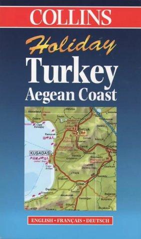 9780004489247: Turkey: Aegean Coast (Collins Holiday Maps)