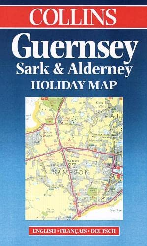 9780004489254: Holiday Map - Guernsey, Sark and Alderney (Collins Holiday Map)