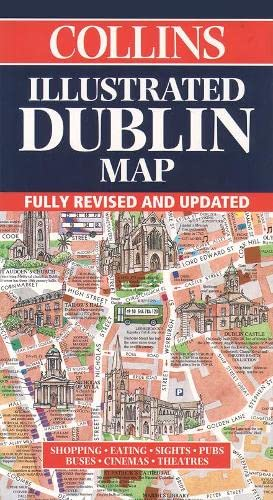 9780004489285: Illustrated Dublin Map