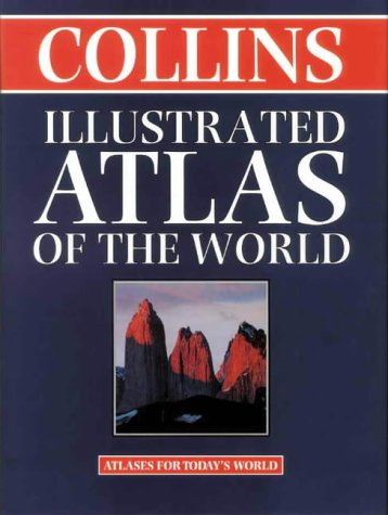 9780004489377: Collins Illustrated Atlas of the World (World Atlas)