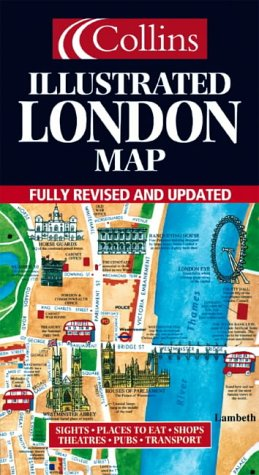9780004489452: Illustrated Map London