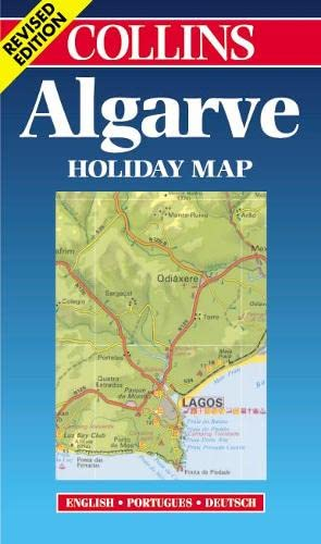 9780004489513: Algarve (Collins Holiday Map)
