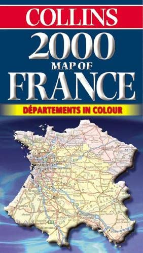9780004489537: Map of France 2000
