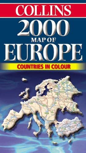 9780004489544: Europe (2000) (Collins European Road Maps)