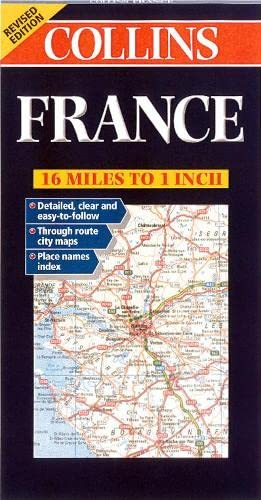 France (Collins European Road Maps): Collins Publishers