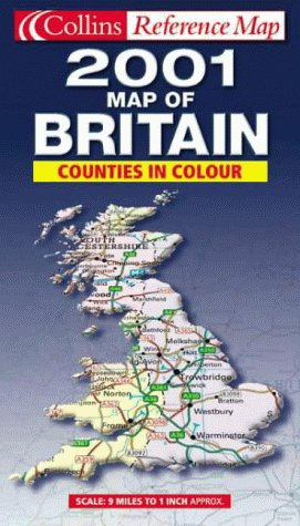 9780004489629: Map of Britain 2001