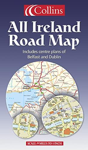 9780004489674: All Ireland Road Map