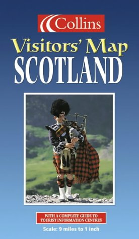 9780004489681: Collins Visitors' Map Scotland (Collins British Isles and Ireland Maps)