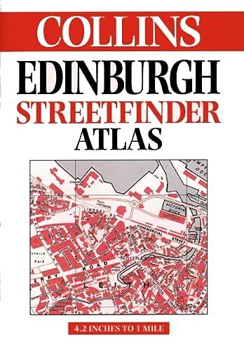 9780004489711: Edinburgh Streetfinder Atlas