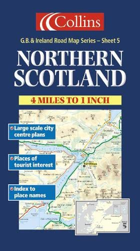 9780004489834: Collins Northern Scotland (Collins British Isles and Ireland Maps)
