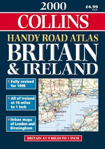 9780004489858: Collins Handy Road Atlas Britain and Ireland 2000