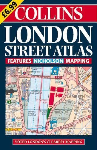 9780004489889: Collins London Street Atlas (Collins British Isles and Ireland Maps)
