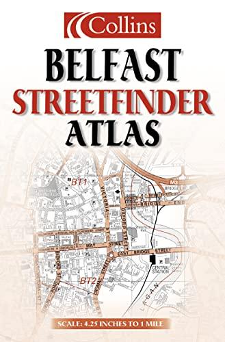 9780004490045: Belfast Streetfinder Atlas