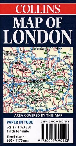 9780004490113: Map of London