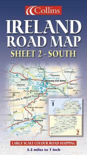 9780004490168: Ireland Road Map: South Sheet 2