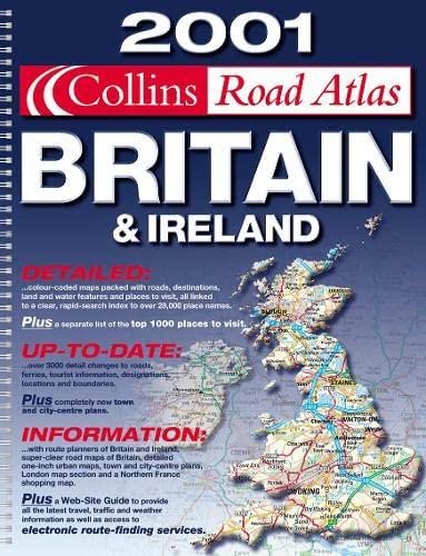 9780004490250: Collins Road Atlas 2001: Britain and Ireland