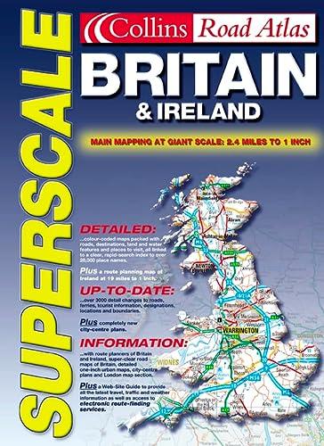 9780004490298: Superscale Atlas Britain and Ireland (Road Atlas)