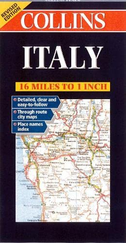 9780004490311: Road Map Italy (Collins European Road Maps)
