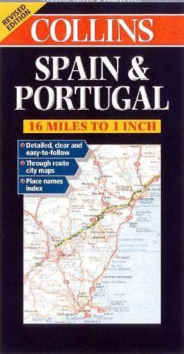 9780004490328: Road Map Spain and Portugal (Collins European Road Maps)