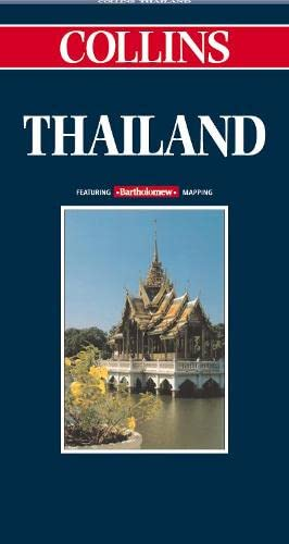 9780004490342: Collins Thailand (Collins World Travel Maps)