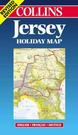 9780004490366: Jersey (Holiday Map) (Collins Holiday Map)