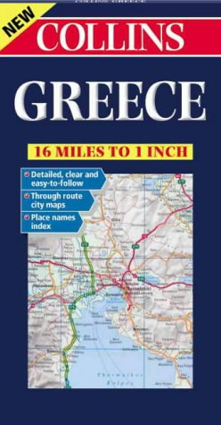 9780004490434: Road Map Greece