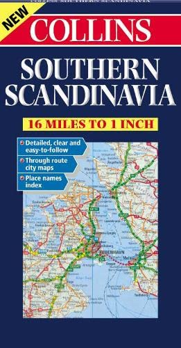 9780004490441: Southern Scandinavia Road Map
