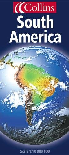 9780004490533: Continental Map - South America