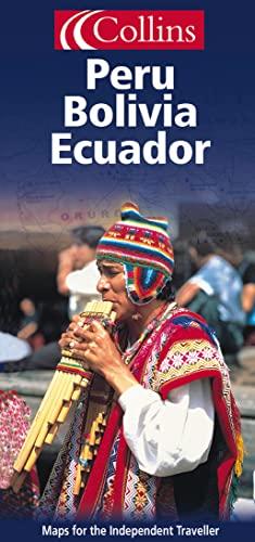 9780004490564: Independent Travel Map - Peru, Bolivia and Ecuador