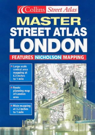 9780004490656: London Master Street Atlas (Collins street atlas)