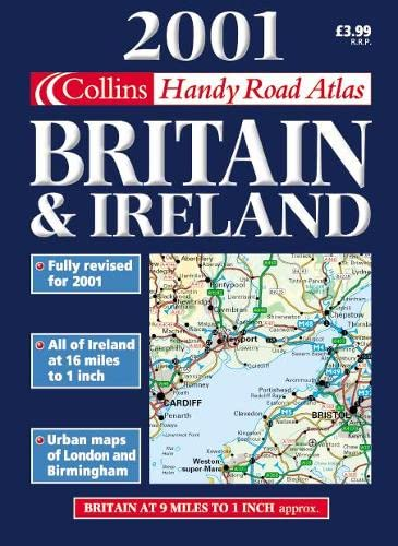 9780004490687: 2001 Handy Road Atlas Britain and Ireland