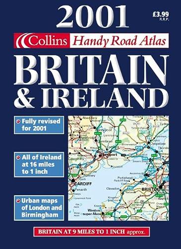 9780004490687: Collins Handy Road Atlas Britain and Ireland 2001