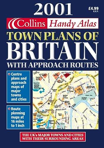 9780004490694: 2001 Handy Town Plan Atlas Britain