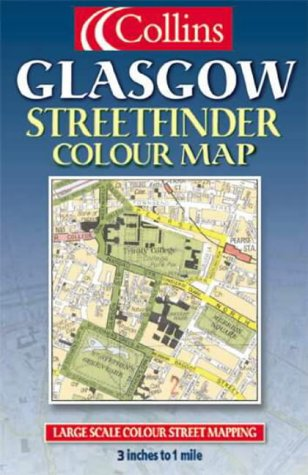 9780004490878: Glasgow Colour Street Map (Streetfinder)