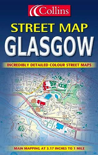9780004490878: Collins Glasgow Colour Street Map