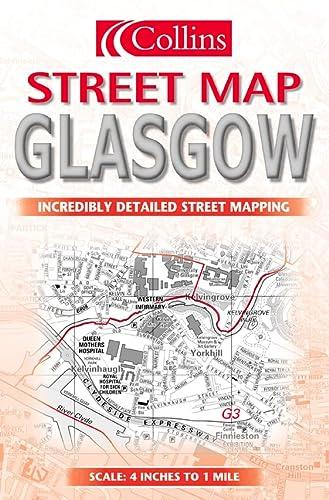 9780004490892: Collins Glasgow Street Map