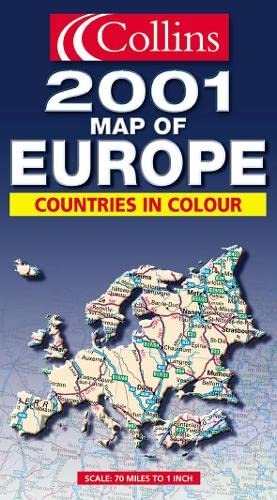 9780004491189: Collins Europe (Collins World Travel Maps)