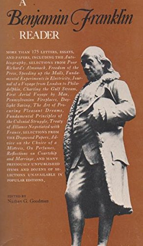 9780004510552: A Benjamin Franklin Reader