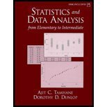 9780004571799: Statistics and Data Analysis : From Elementary to Intermediate-Textbook Only by Ajit C. Tamhane (2000-07-30)