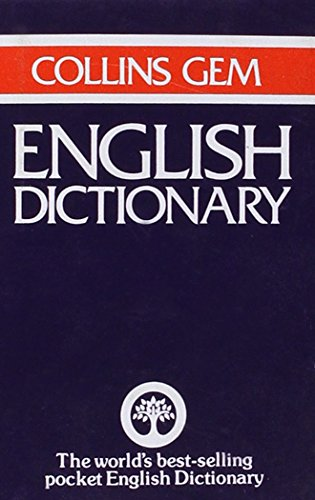 English Dictionary (Gem Dictionaries): Collins Sons &