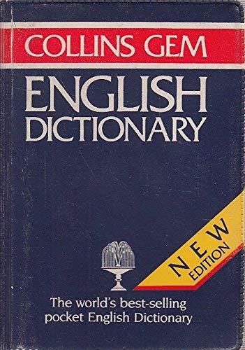 9780004583297: English Dictionary (Gem Dictionaries)